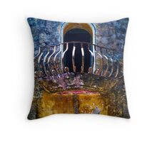 Corrosion Throw Pillow