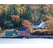 Fisherman's Home, North-West Cove Photographic Print
