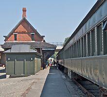 """Thomaston Train Depot"" - Naughatuck Railroad - © 2009 by Jack McCabe"