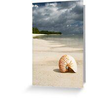 Nautilus - Cocos (Keeling) Islands Greeting Card