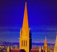 Bendigo Cathedral by Sherene Clow