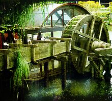 Water Mill by © Kira Bodensted