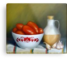 Romas, Garlic And Oil Metal Print