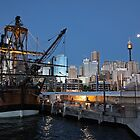 Endeavour at Darling Harbour by Chris Allen
