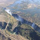 Victoria Falls Flight by Steve Bullock