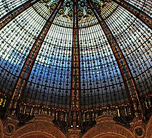 Paris Galeries Lafayette II by Louise Fahy