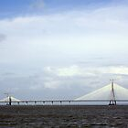 Bandra Worli Sealink by magiceye