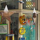 Store Window in San Antonio Market Square by Susan Russell