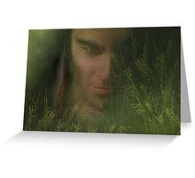 Whispers in the Grass Greeting Card