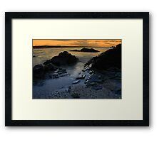 Autumn view of Skerries Framed Print