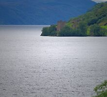 Loch Ness and Urquhart Castle by WatscapePhoto