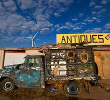 Antique truck by LOUOATES