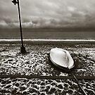 Winter boat. by Kostas Pavlis