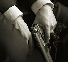 Guns' hands by Alberto Perez Veiga
