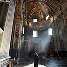 Walking through St. Pietro by Alberto Perez Veiga