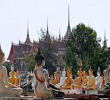 Buddha Garden by Dave Lloyd
