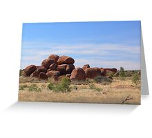 Devil's Marbles Greeting Card