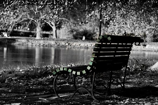 Benched - Hyde Park by Boxx