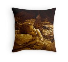 Another view of Lizard Gully Throw Pillow