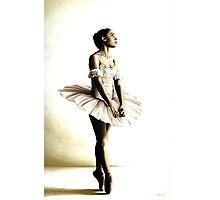 Dancer at Peace Photographic Print