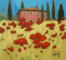 Tuscan Popies 1 by scottnaismith