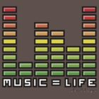Music=Life by Niels Nijhof