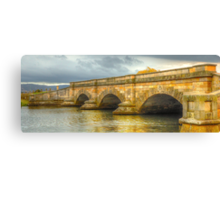 A River Runs Through It -Ross Bridge c1836 - Ross Tasmania - The HDR Experience Canvas Print
