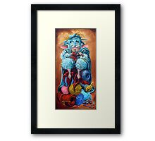 Occupational Therapy Framed Print