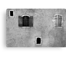 The small house Canvas Print