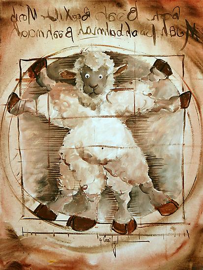 Baaa Vinci by Conni Togel