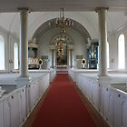 family church in Farila, Sweden by Darlene Virgin