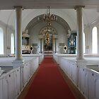 family church in Farila, Sweden by Darlene Virgin