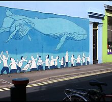 Blue Whale - By Dives Art. by Jazzdenski