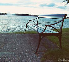 Lonely Bench I by Ashfaq