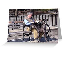 EXCUSE ME, I NEED TO SIT. THANK YOU! Greeting Card