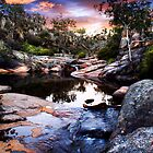 Magickal Rock Pool by David Ballard