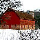 rustic barn by Lynne Prestebak