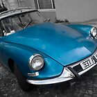 Citroen DS in Montmartre, Paris by lukefarrugia