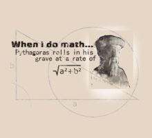 Pythagoras thinks I'm dumb by Ian Woodward