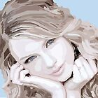 Taylor Swift Portrait by KelseyP77