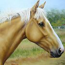 Palomino Gelding by Margaret Stockdale