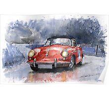 Porsche 356 B Roadster Poster