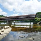 Harpersfield Covered Bridge, Ashtabula County, Ohio by Sheri Nye