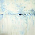Cold #2 Abstract Landscape by Samuel Durkin