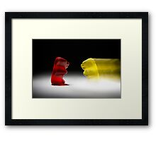 Gummy Bear Photography - The Pursuit of Success Framed Print