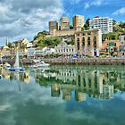 Torquay Harbour by Catherine Hamilton-Veal  ©