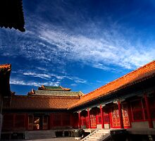 Behai Architecture - The Forbidden City, China by Alex Zuccarelli