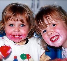 Megan & Kate 1999 by Kathy Silcock