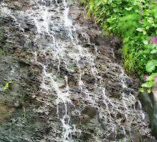 Joggins Waterfall by L J Fraser