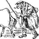 Welsh farmer by leunig